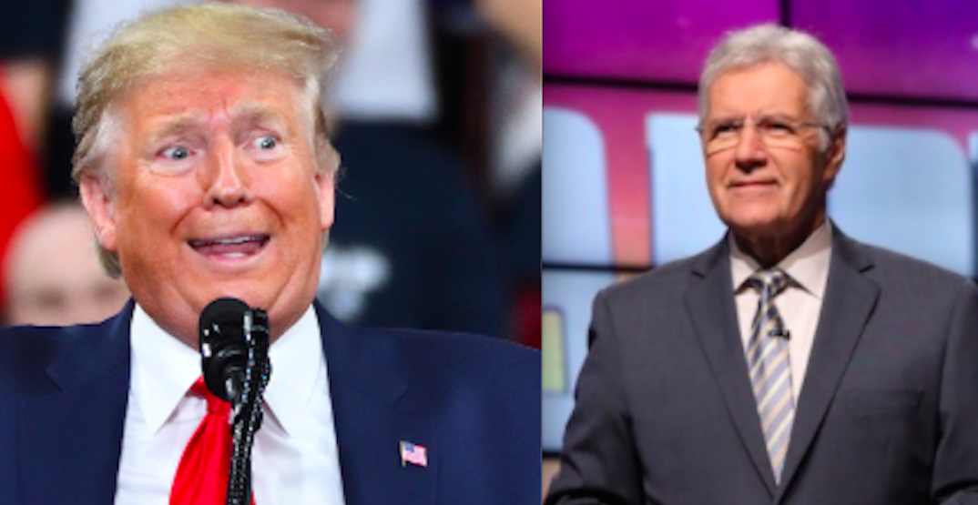 "Trump wants a statue of Alex Trebek in his ""Garden of American Heroes"""