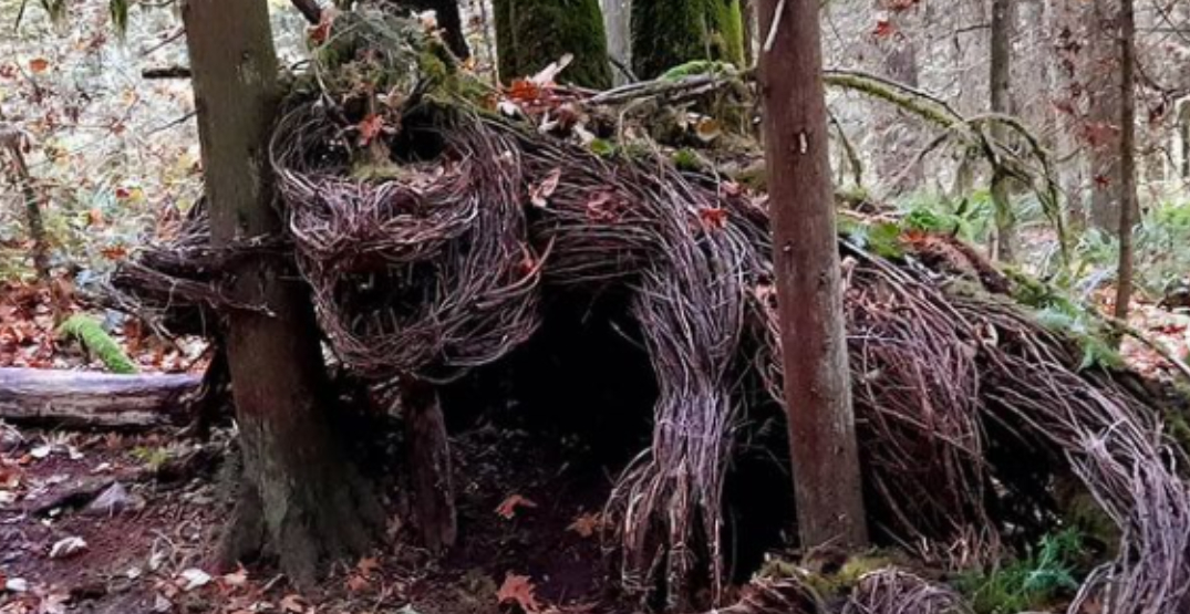 Mythical creatures are hidden in this Vancouver area park (PHOTOS)