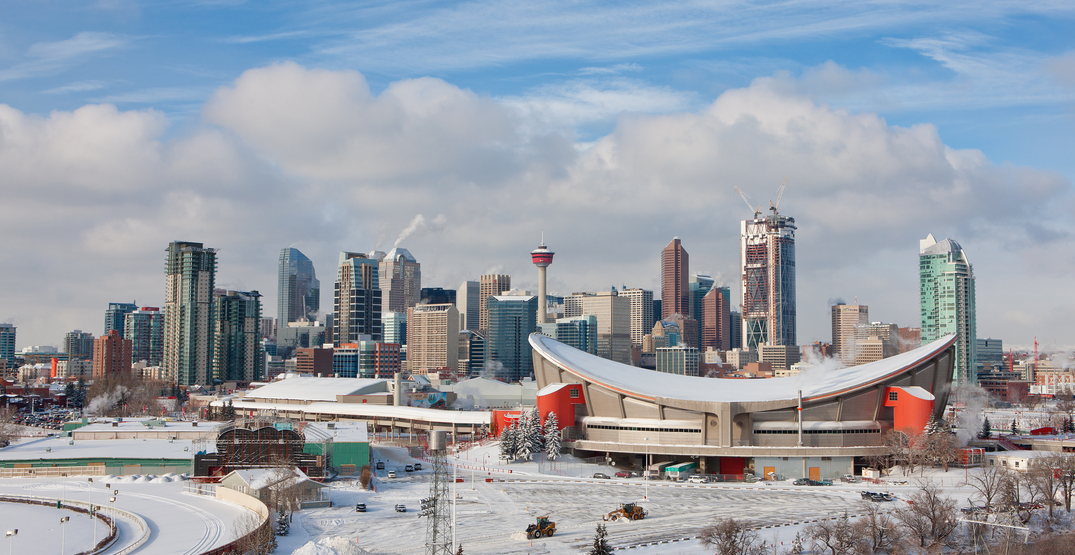 It's going to snow and feel like -16°C in Calgary next week