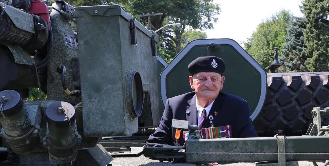 Canadians asked to send World War II veteran cards for upcoming 100th birthday