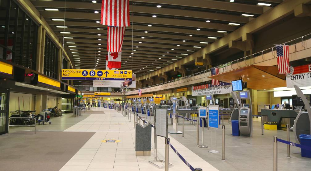 Only passengers and employees allowed inside Calgary airport