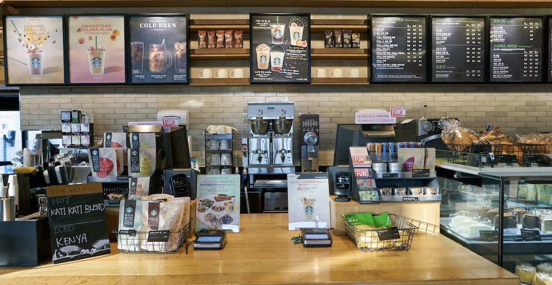 Starbucks experiencing temporary shortage of products in Canada