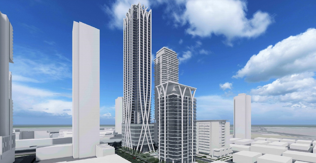 Condo and rental towers up to 51 storeys planned next to Metrotown Station