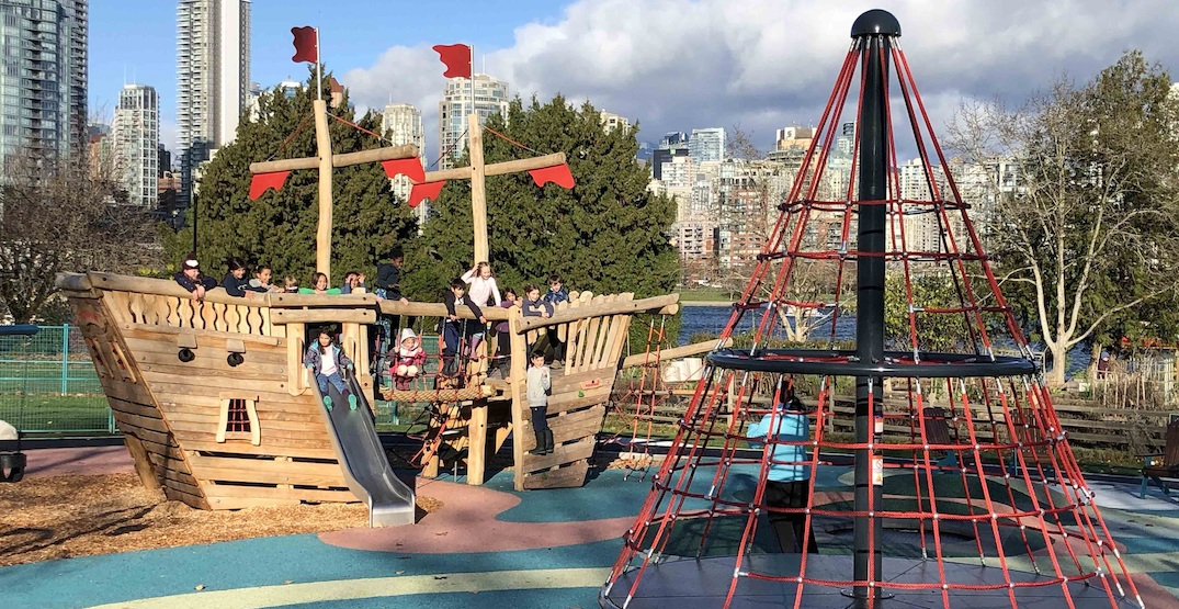 Vancouver Park Board completes six new playgrounds