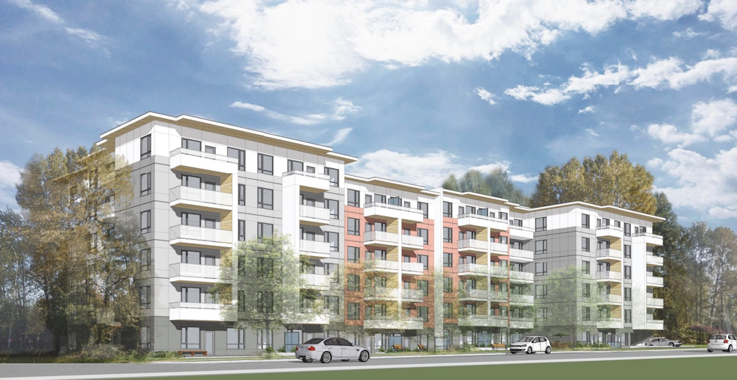 133 market rental homes proposed next to Inlet Centre Station in Port Moody