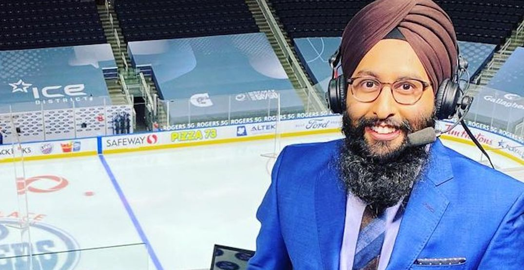 Speechless, stunned, stoked: Harnarayan Singh reflects on Hockey Night in Canada play-by-play debut