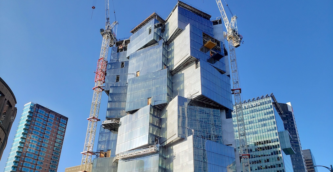 Deloitte Summit office tower construction in downtown has topped out (PHOTOS)