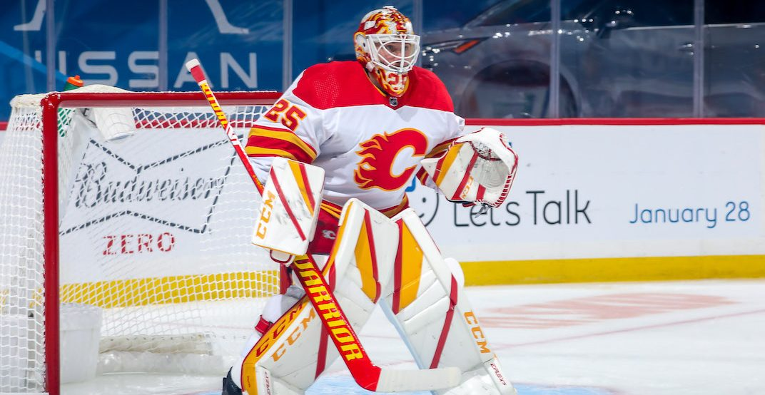 Markstrom leaving little doubt as Flames most valuable player