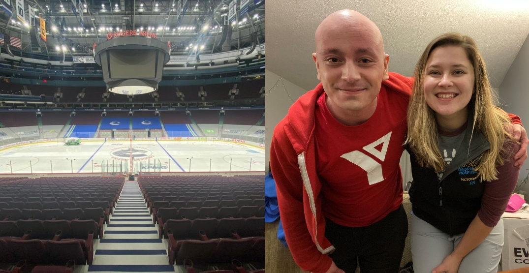Frontline workers to sing anthem at Canucks home opener tonight