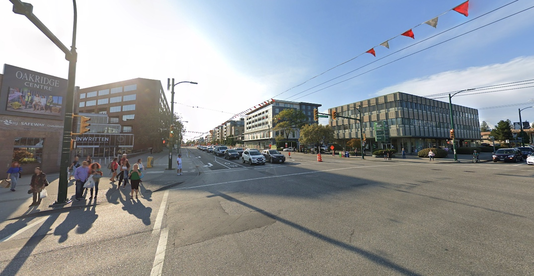 Future additional entrance for Oakridge-41st Avenue Station to be created through development