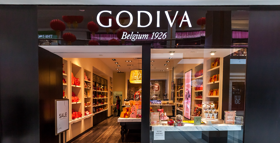 Luxury chocolatier Godiva closing all its Canadian stores