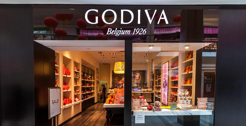 godiva canada closure stores