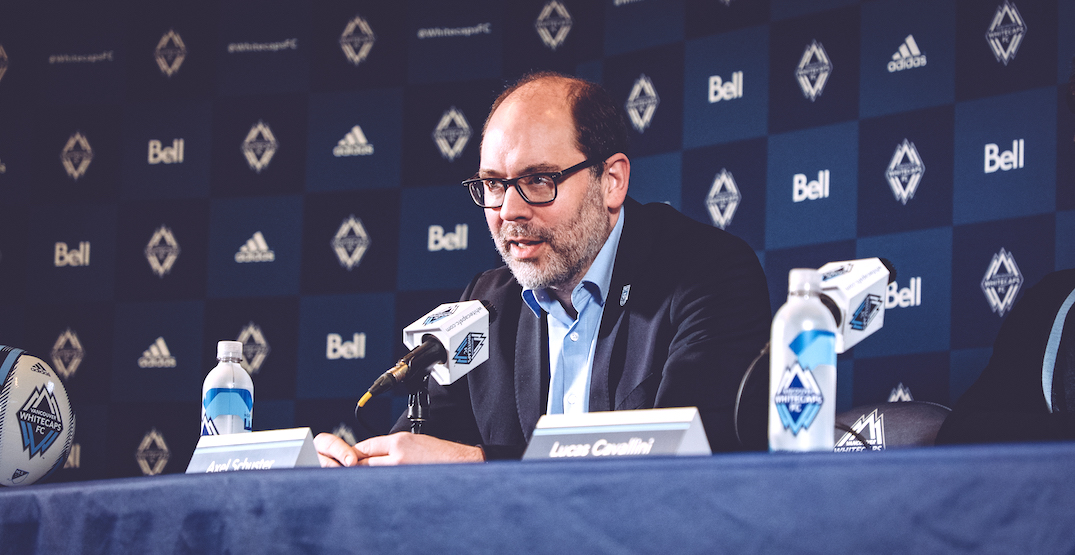 Axel Schuster on Whitecaps rumours and 2021 MLS season negotiations