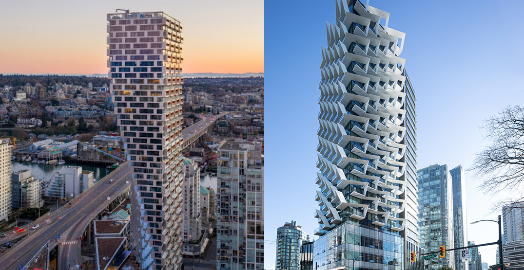 New landmark towers in downtown Vancouver win international design awards