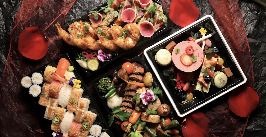 Vancouver restaurants offering Valentine's Day meals to-go