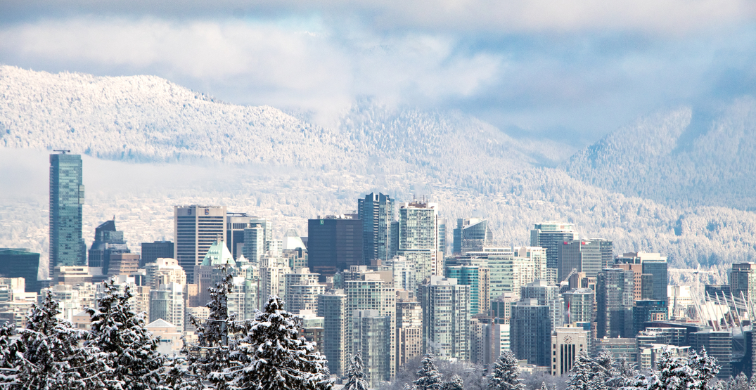 Snowfall warning issued for Metro Vancouver as up to 15 cm expected