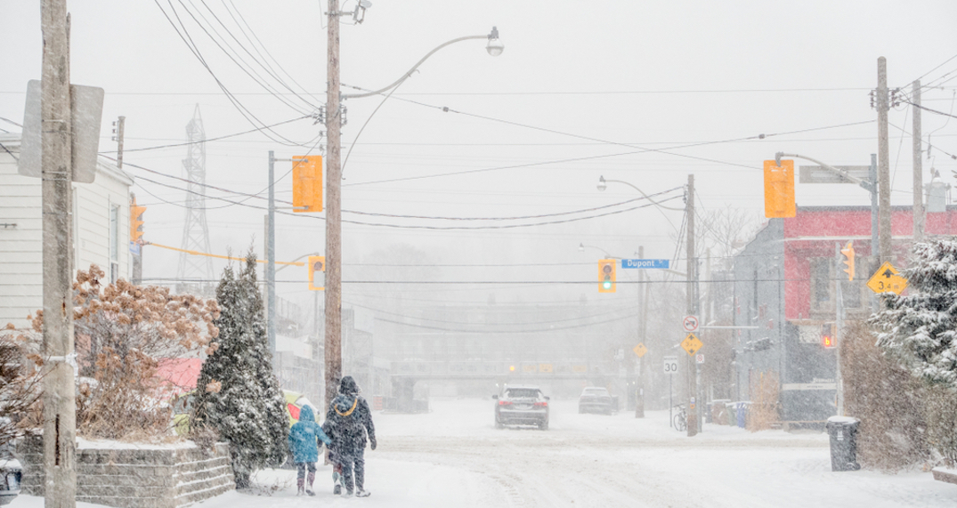 Up to 10 cm of snow expected for Toronto on Tuesday