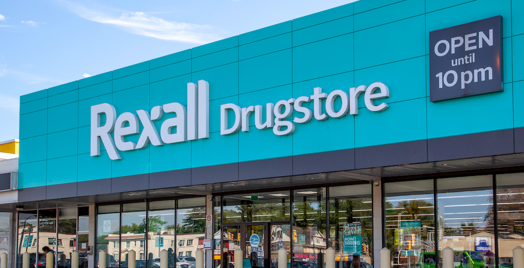 You can now get healthcare products delivered from Rexall