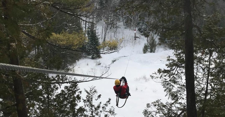 montreal ziplining