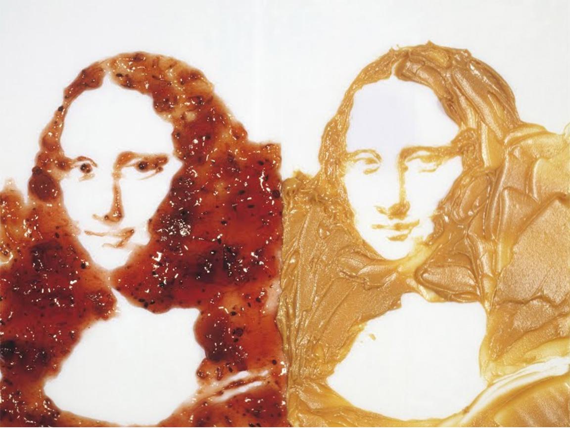 Double Mona Lisa, After Warhol