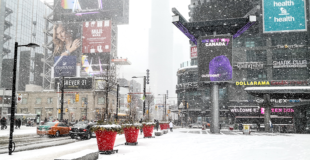 Environment Canada issues special weather statement for Toronto snowfall