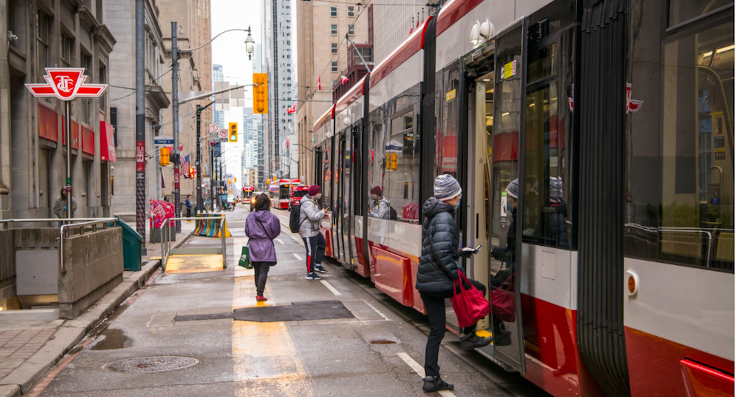 Transit levels plumet as over 50% of Toronto residents observe Stay At Home orders