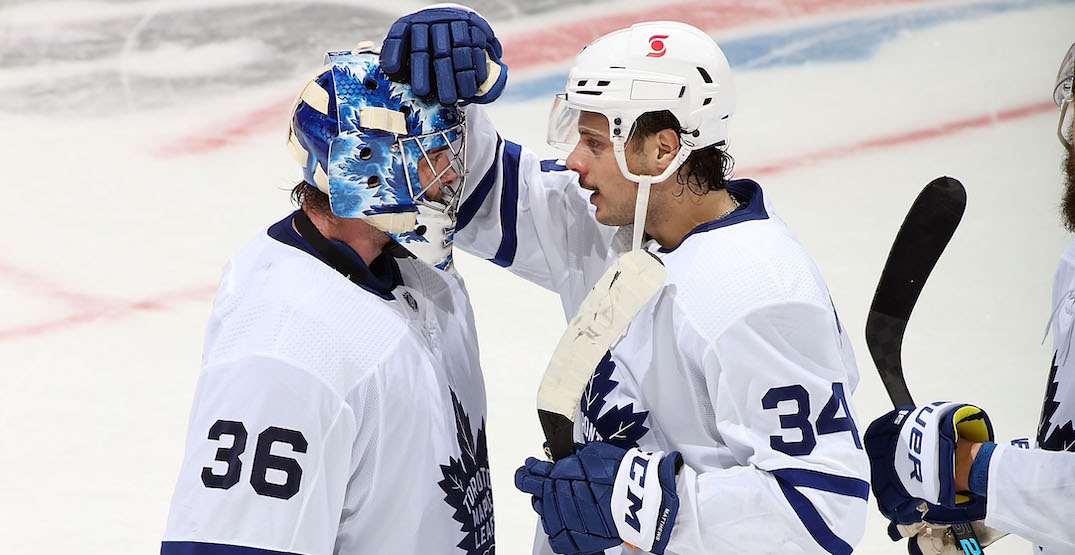Leafs lose goaltender Jack Campbell for extended period due to injury