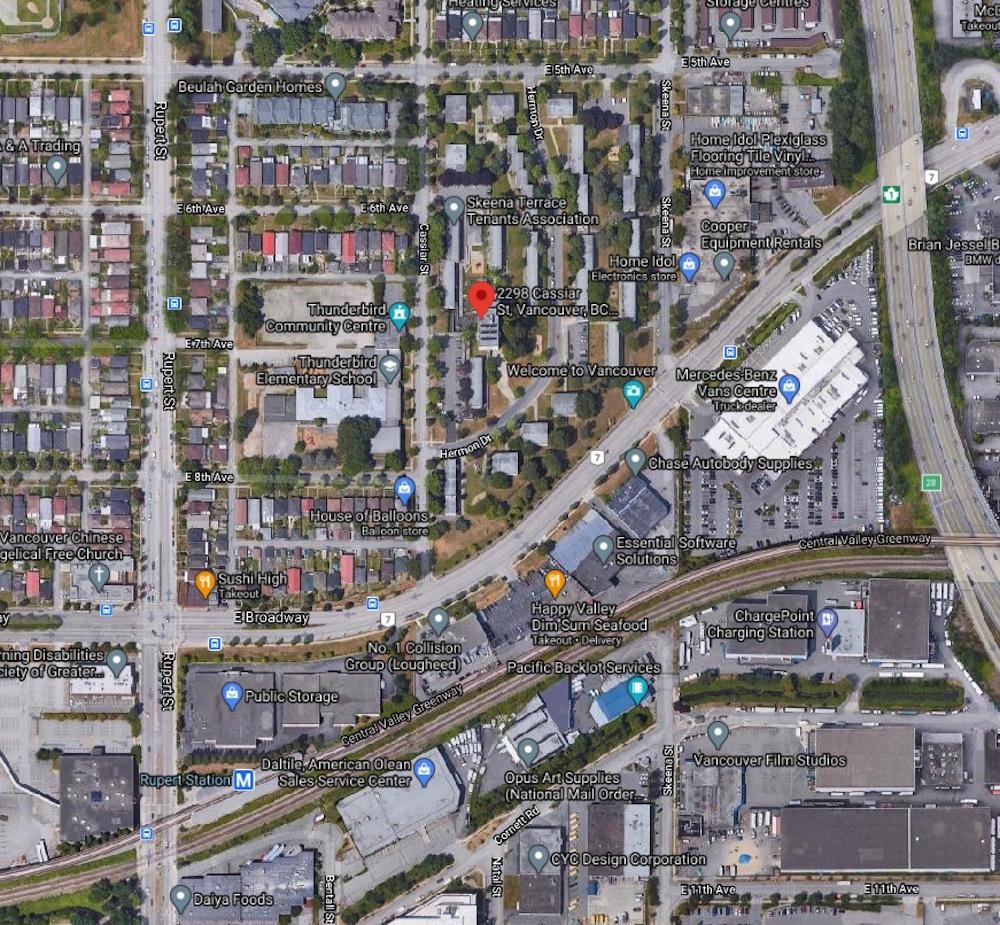 2298 Cassiar Street Vancouver Skeena Place
