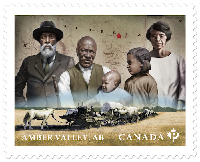 canada post black history stamps