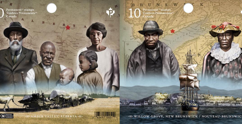 Canada Post's new commemorative stamps honour Black communities