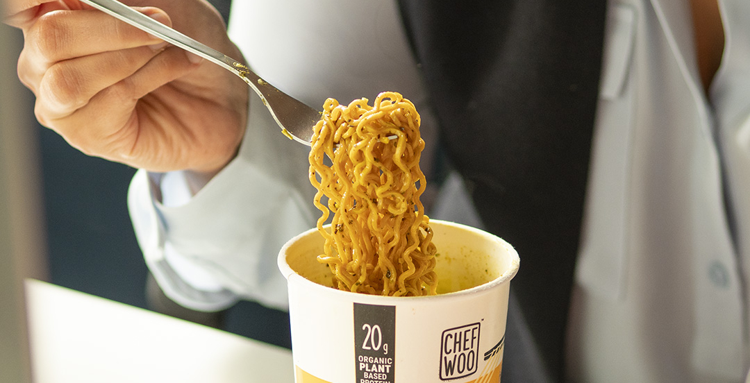 Finally, there's such thing as healthy ramen