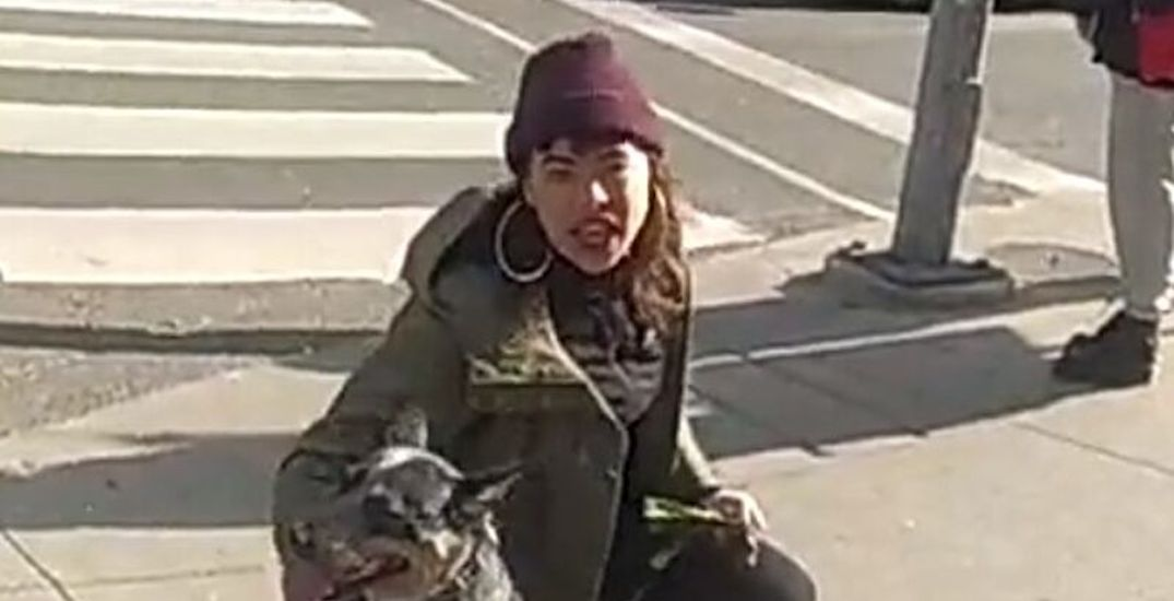 Woman sought in alleged hate-motivated assault near Yonge and Dundas Square