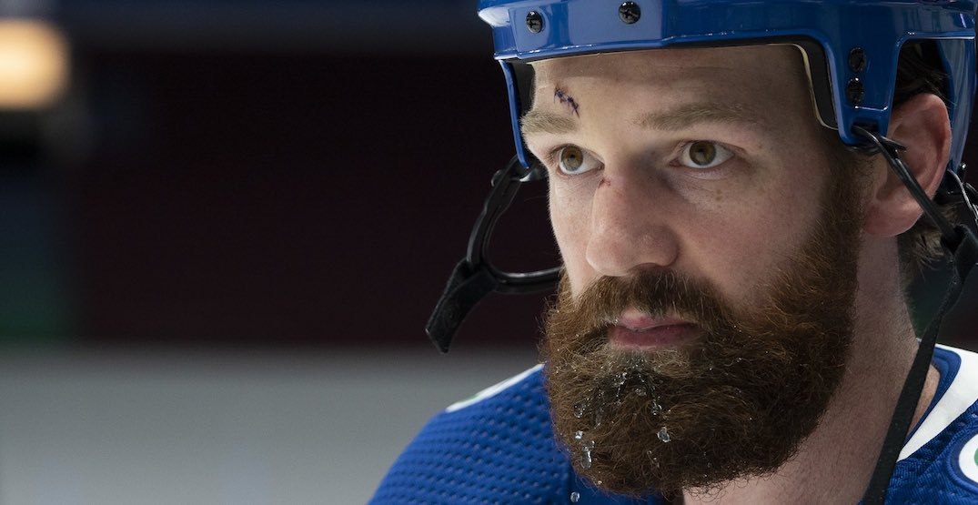 Jordie Benn has suddenly become an important player for the Canucks