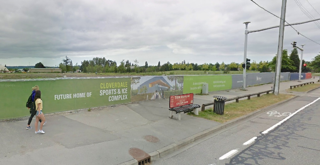 cloverdale sport and ice complex 17770 64th Avenue surrey