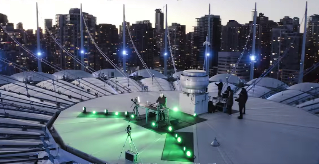 Contact Winter Music Festival will be performed on the roof of BC Place