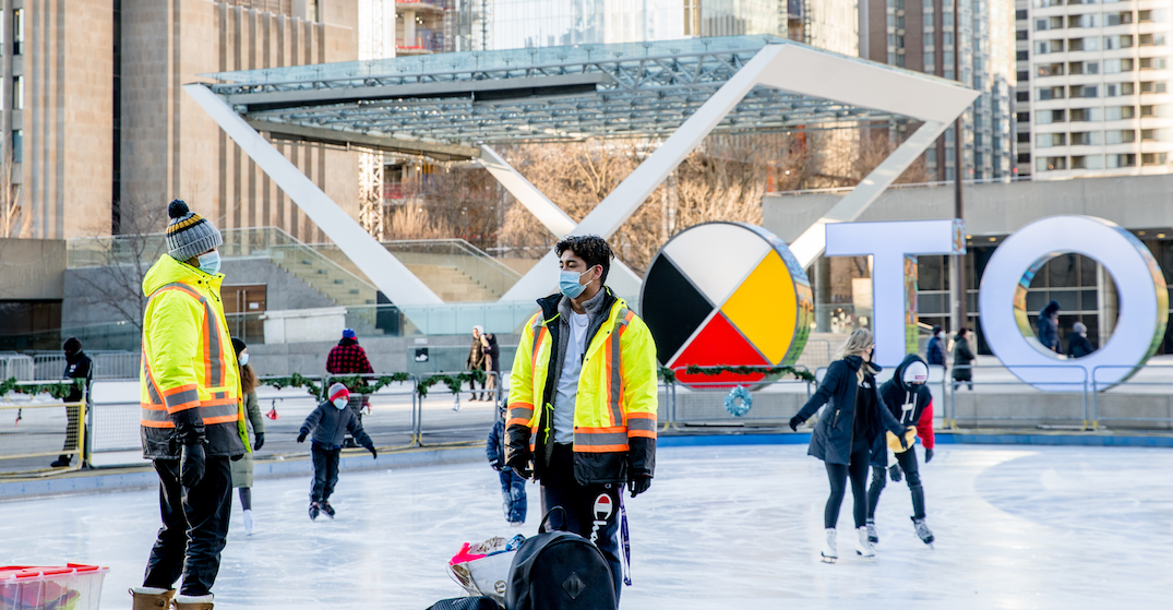 Non-Toronto residents can no longer reserve spots on city's skating rinks