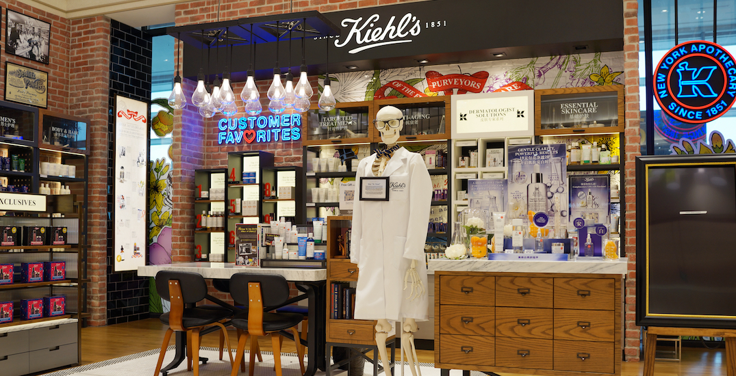 Kiehl's to close some of its Canadian stores this year