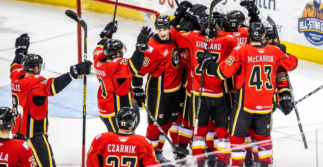 Flames move their AHL team to Calgary for upcoming season