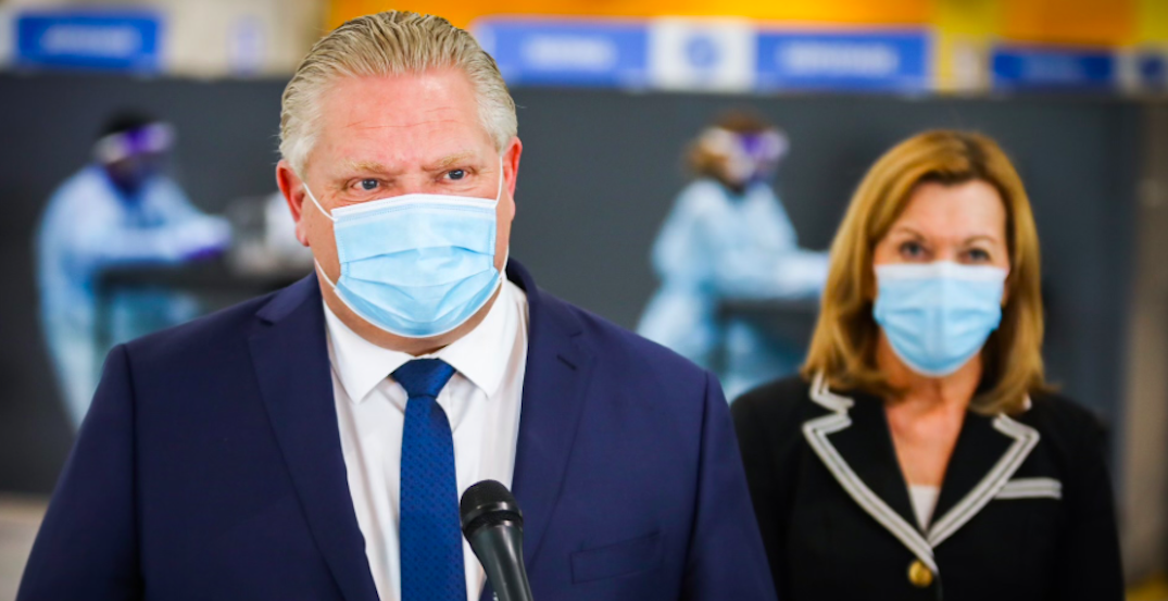 Ford set to give announcement as Ontario's COVID-19 cases decline