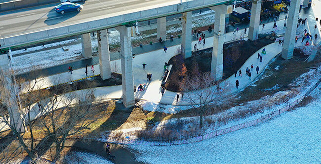 Toronto's Bentway skating trail is closing this month
