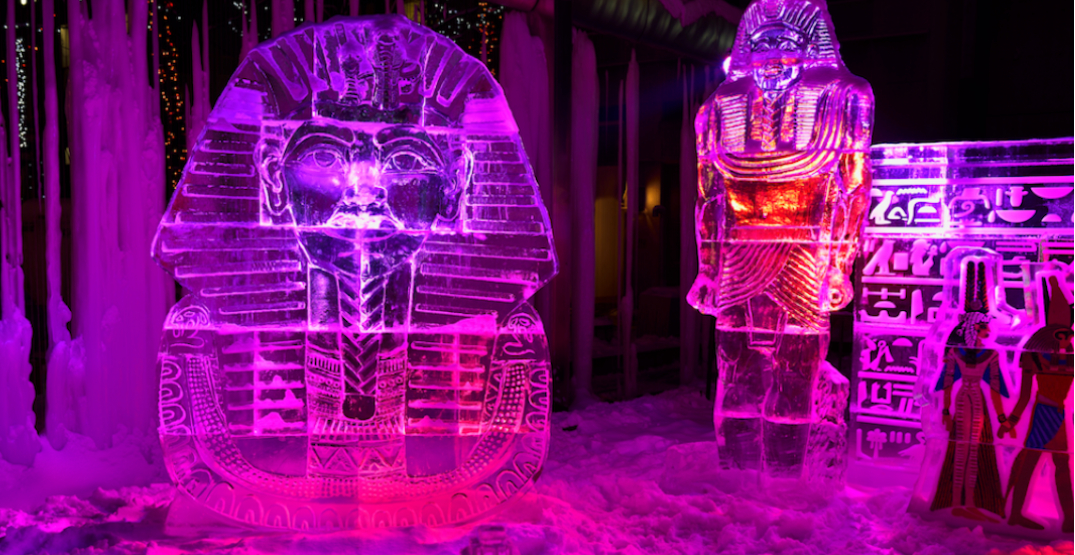 Toronto is getting a physically distanced ice sculpture trail next month