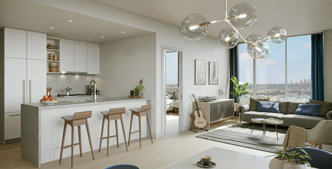 Get a glimpse inside these new concrete condos in Burnaby (PHOTOS)