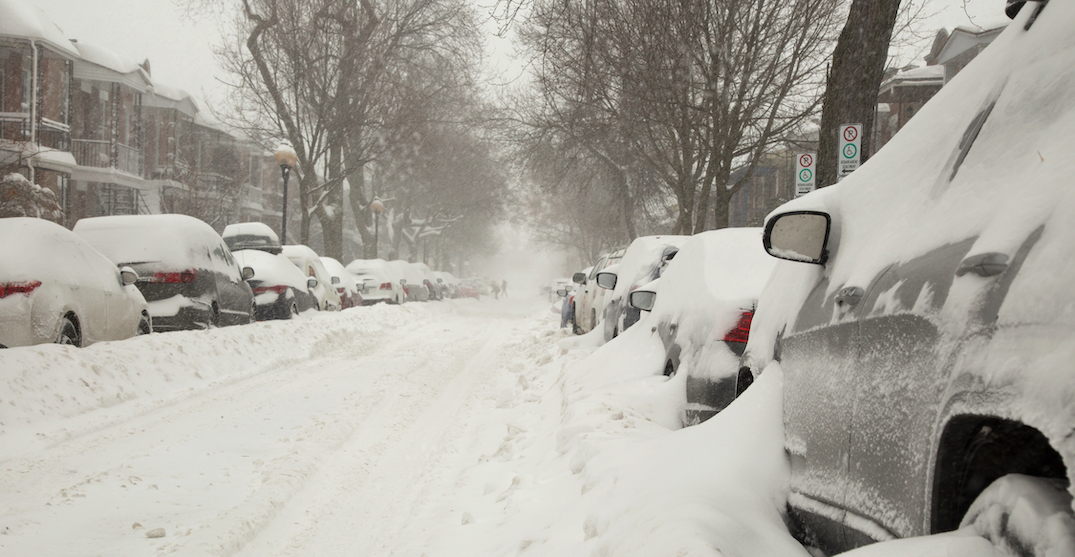 """Major storm"" prompts special weather statement for Montreal as up to 20 cm of snow expected"
