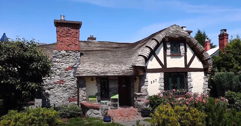 587 West King Edward Avenue Hobbit House