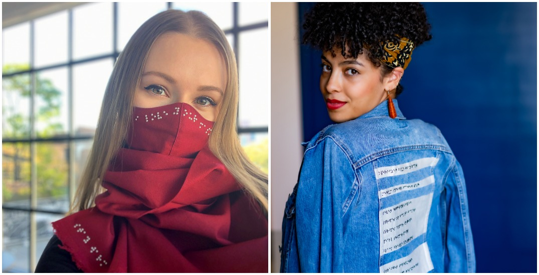 Toronto fashion startup shines spotlight on Braille with its designs