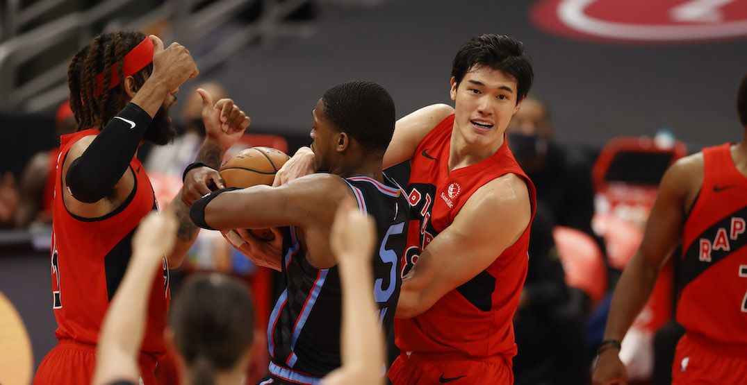 Hard-working Watanabe a nice surprise for the Raptors this season