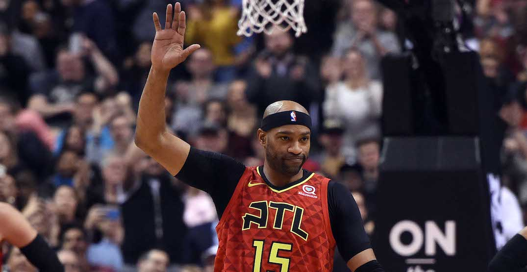 Vince Carter launches new scholarship program in Toronto