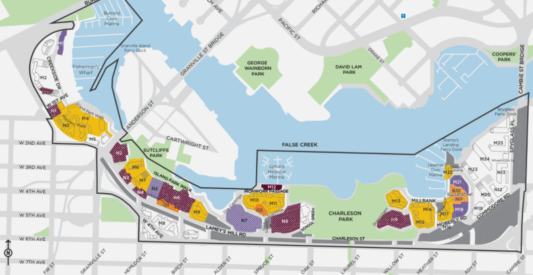 City of Vancouver seeking public input on the future of 80 acres in False Creek South
