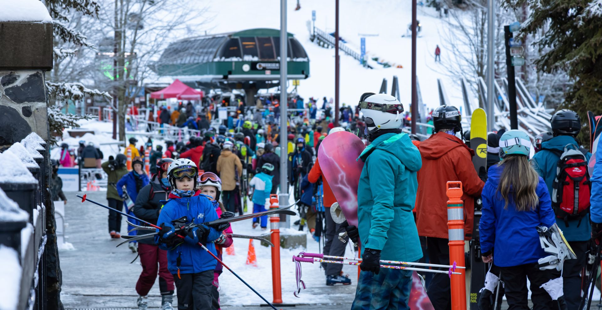 Massive Whistler lineups worry some skiers during COVID-19 case spike