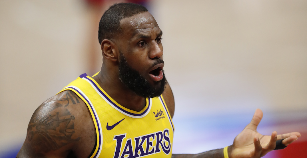 LeBron James changing his Lakers jersey number after Space Jam movie: report